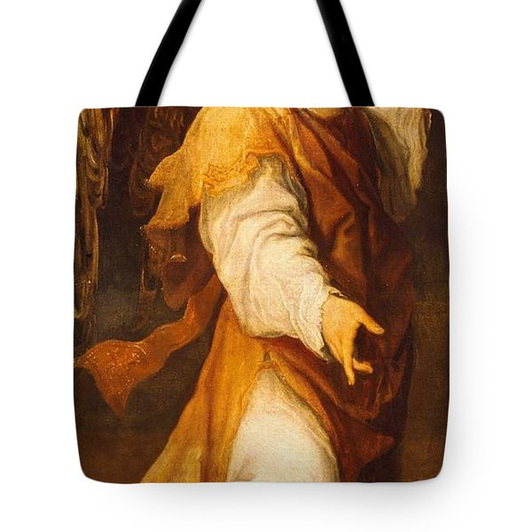Announcing Angel Tote Bag by Annibale Carracci