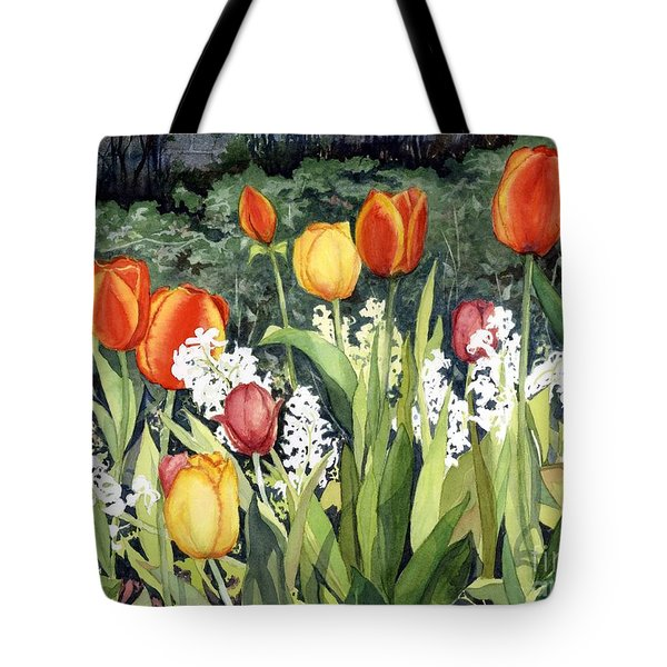 Ann's Tulips Tote Bag