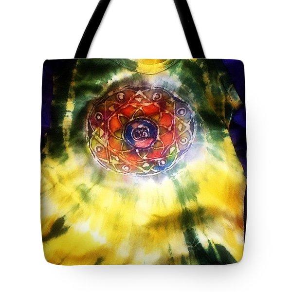 Batik Mandala Tote Bag