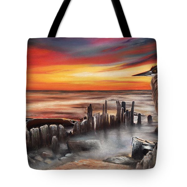 Another Bloody Sunset Tote Bag