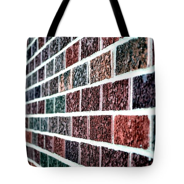 Tote Bag featuring the photograph Another Brick In The Wall by Deena Stoddard