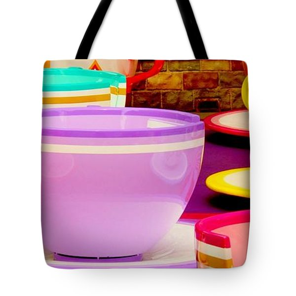Tote Bag featuring the photograph Another Cup Of Tea by Benjamin Yeager