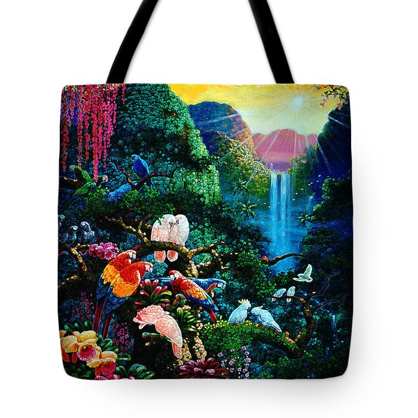 Another Day In Paradise - Digital 2 Tote Bag