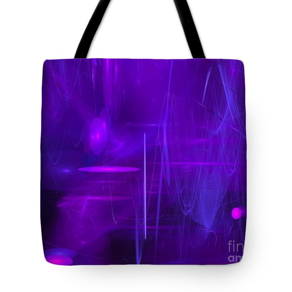 Tote Bag featuring the digital art Another Dimension by Victoria Harrington