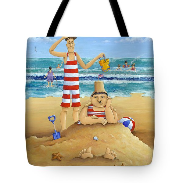 Another Fine Mess Tote Bag by Peter Adderley