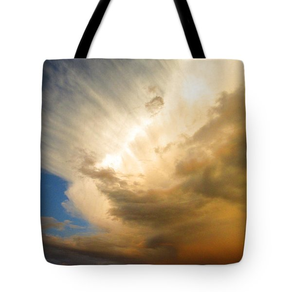 Another Incredible Cloud Tote Bag by Joyce Dickens