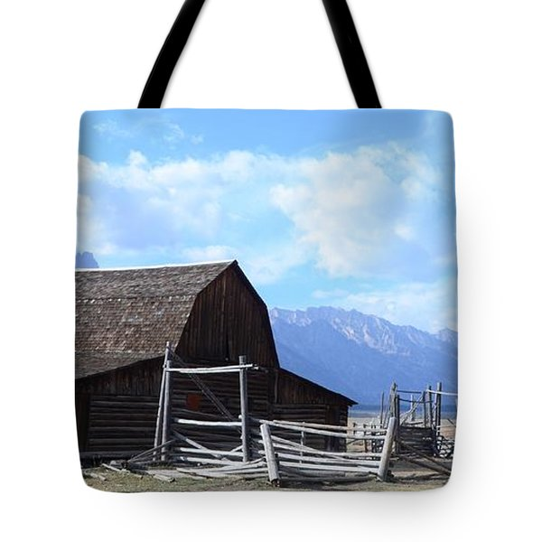 Another Old Barn Tote Bag by Kathleen Struckle