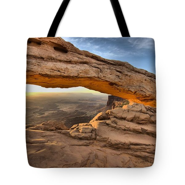 Another Perspective Of Mesa Arch Tote Bag