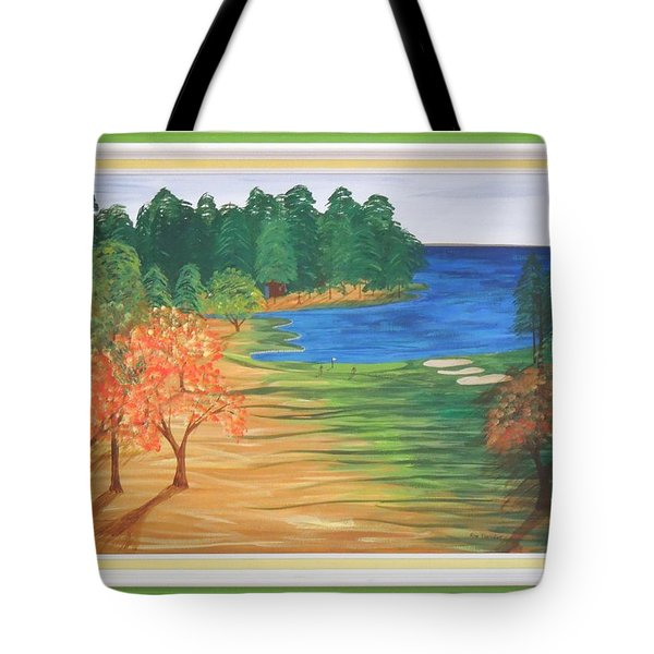 Another Sunday Morning Tote Bag by Ron Davidson