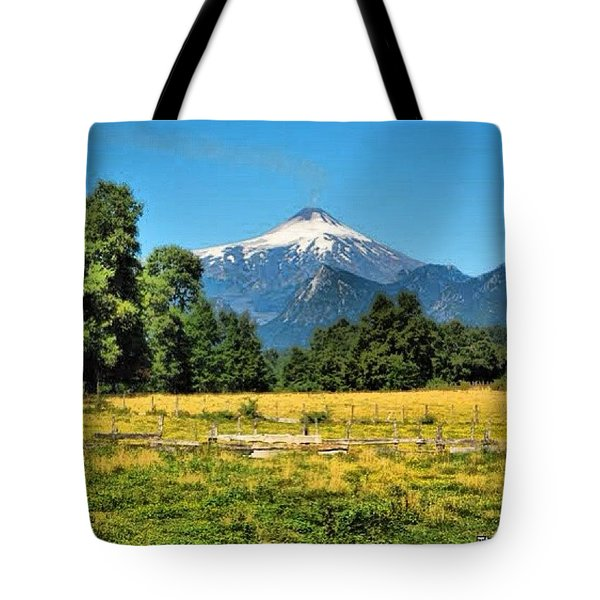 Another Sunny Day In Villarrica..with Tote Bag