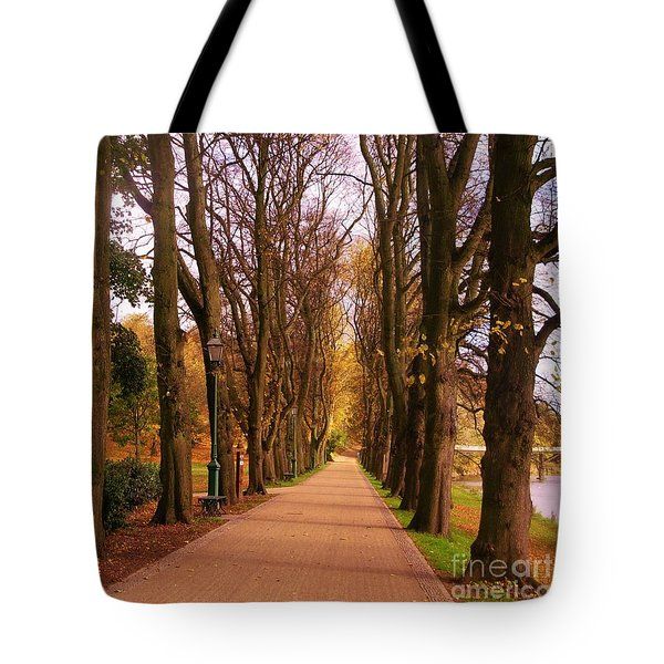 Another View Of The Avenue Of Limes Tote Bag