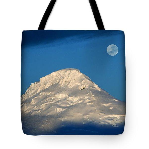 Antarctic Moon Tote Bag