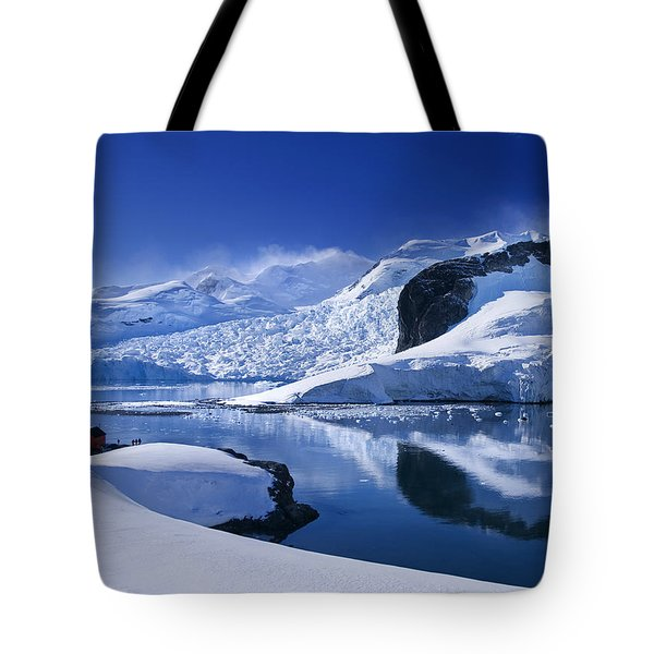Antarctic Paradise Tote Bag