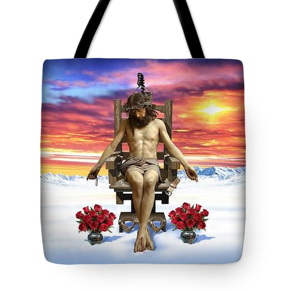 Antarctica Tote Bag by Scott Ross