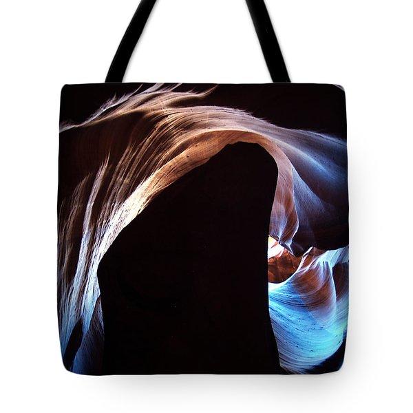 Antelope Canyon 09 Tote Bag by Jeff Brunton