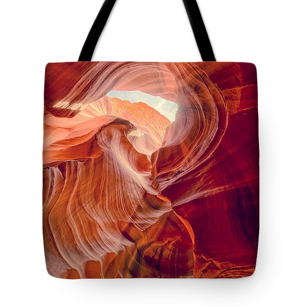 Antelope Canyon Navajo Nation Page Arizona Weeping Warrior Tote Bag