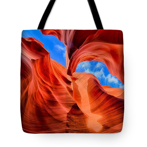 Tote Bag featuring the photograph Antelope Canyon Walls by Greg Norrell
