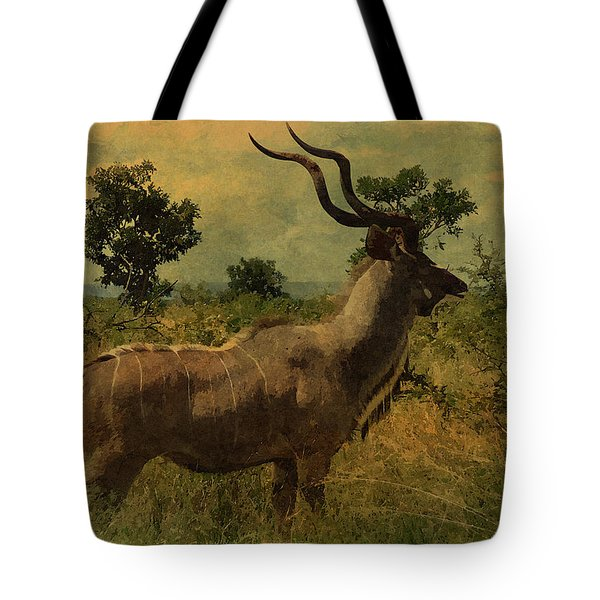 Tote Bag featuring the photograph Antelope by Ericamaxine Price