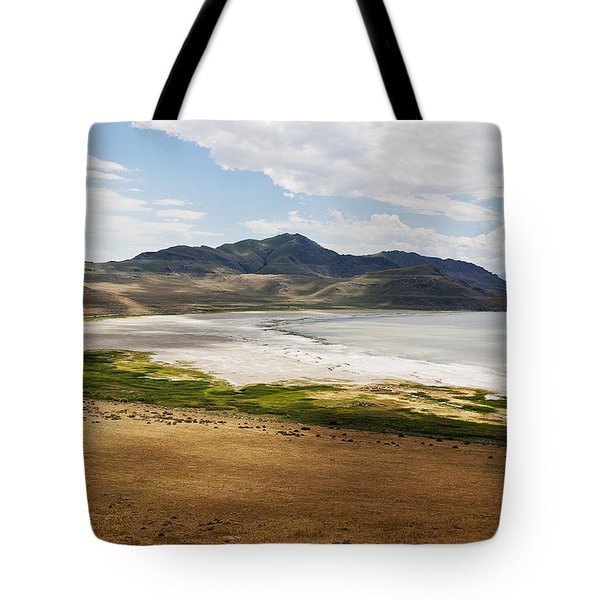 Tote Bag featuring the photograph Antelope Island by Belinda Greb