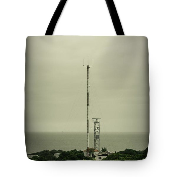 Antenna Tote Bag by Marco Oliveira