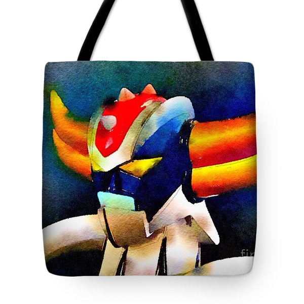 Tote Bag featuring the painting Anterak One by Helge