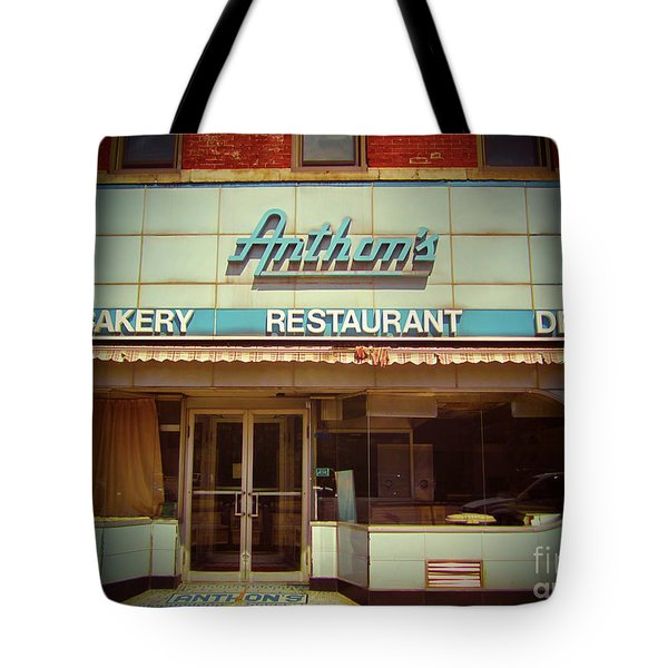Anthon's Bakery Pittsburgh Tote Bag by Jim Zahniser