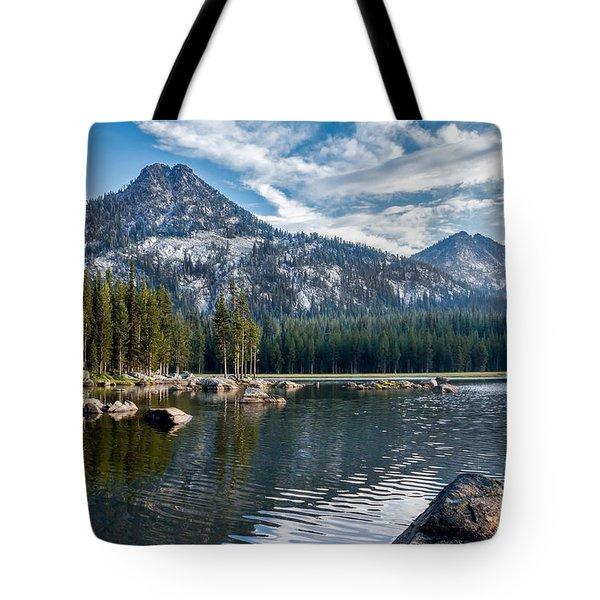 Anthony Lake Tote Bag by Robert Bales