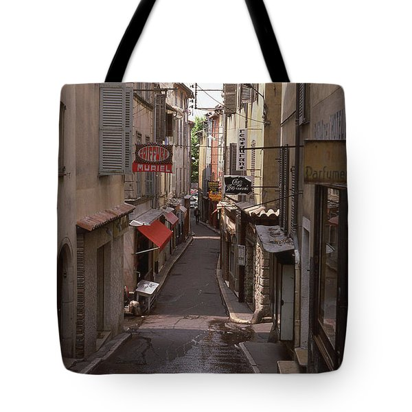Tote Bag featuring the photograph Antibes 76 by Mark Alan Perry