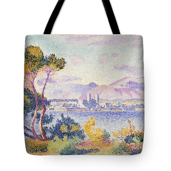 Antibes Afternoon Tote Bag by Henri Edmond Cross