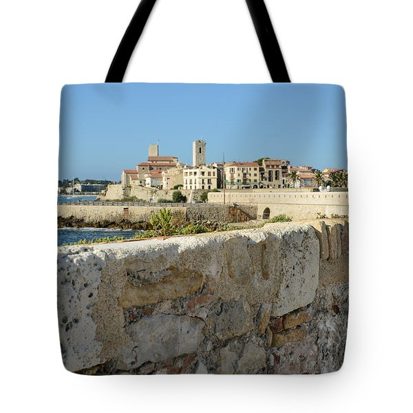 Antibes France Tote Bag