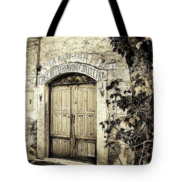 Antica Bottega B/w Tote Bag
