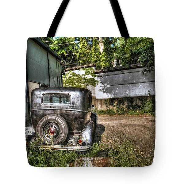Antichrist Model T Tote Bag