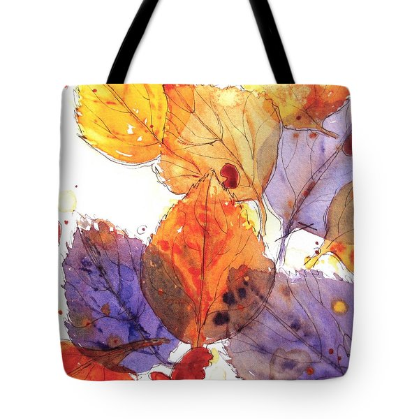 Anticipating Autumn Tote Bag