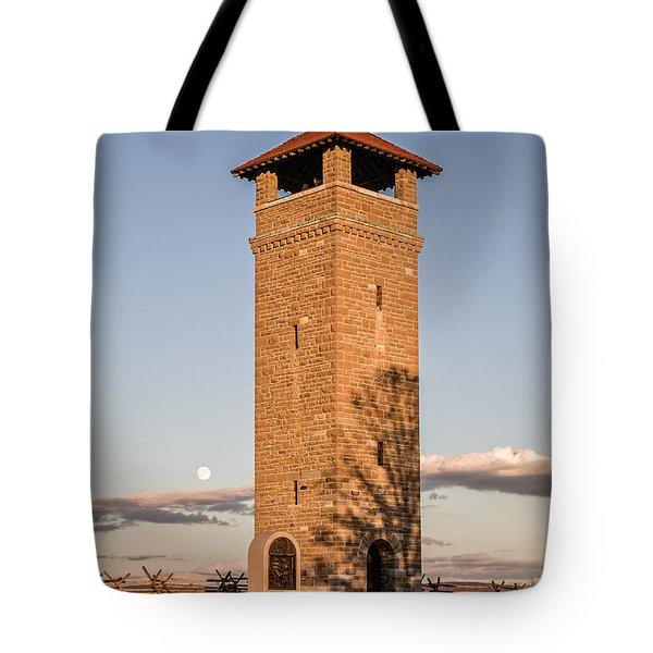 Antietam's Stone Tower Tote Bag