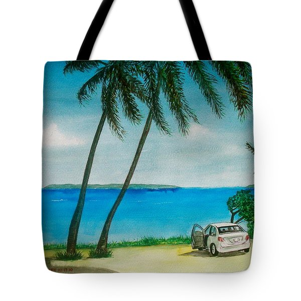 Antigua Tote Bag by Frank Hunter