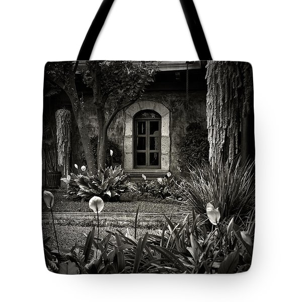 Antigua Garden Tote Bag by Tom Bell