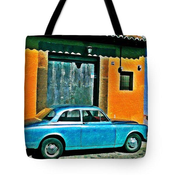Antigua Volvo Tote Bag