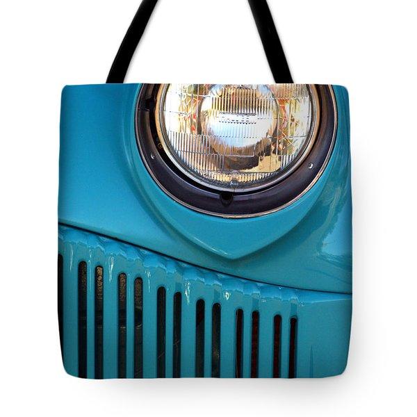 Antique Automobile Headlamp Tote Bag