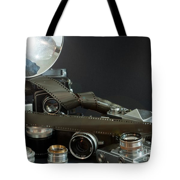 Antique Cameras Tote Bag