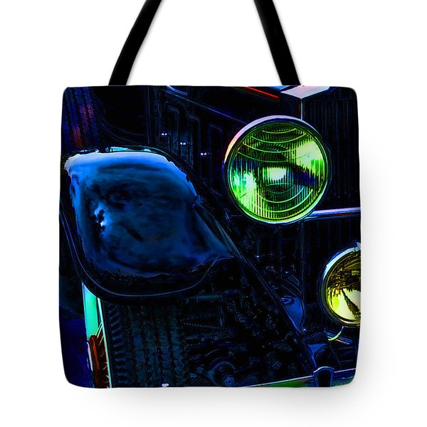 Antique Rolls Royce Car Abstract Tote Bag
