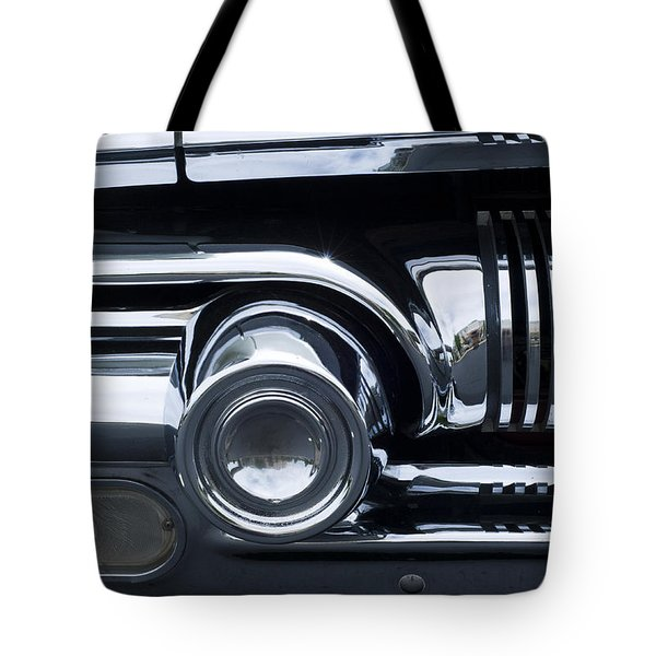 Antique Car Grill Tote Bag
