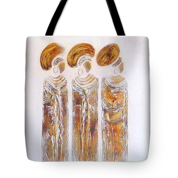 Antique Copper Zulu Ladies - Original Artwork Tote Bag
