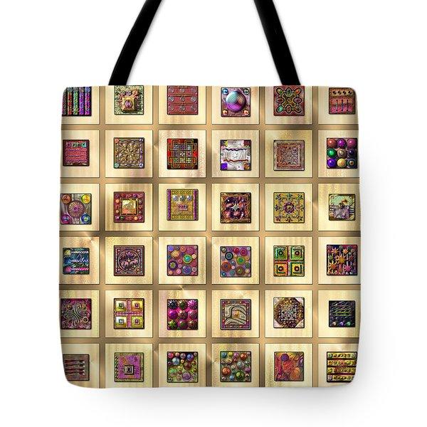Antique Digitalia  Tote Bag