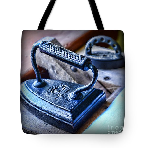 Antique Iron Tote Bag by Paul Ward