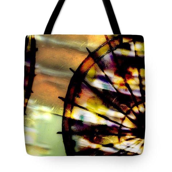 Color Wheel Tote Bag by Don Gradner