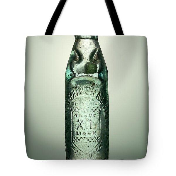 Antique Mineral Glass Bottle Tote Bag