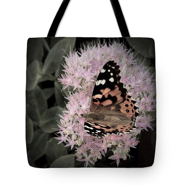 Tote Bag featuring the photograph Antique Monarch by Photographic Arts And Design Studio