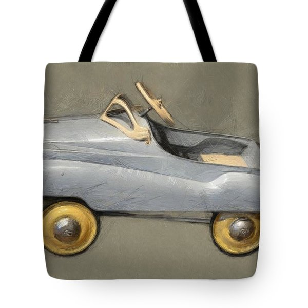 Antique Pedal Car Ll Tote Bag