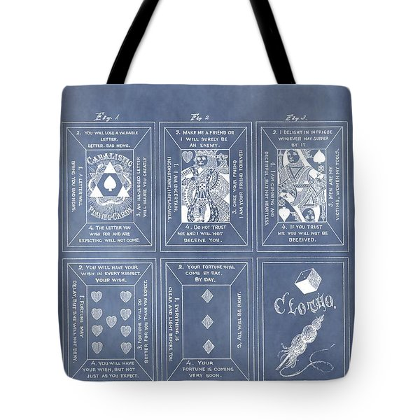 Antique Playing Cards Tote Bag