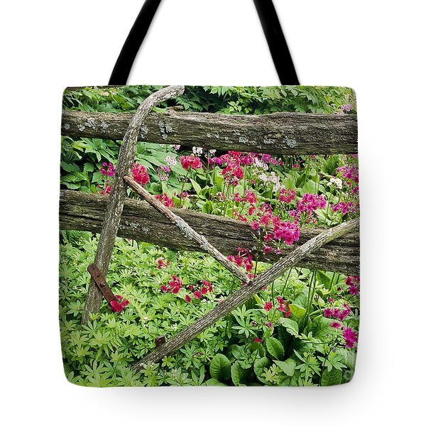 Tote Bag featuring the photograph Antique Plow Handles by Alan L Graham